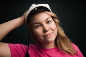 Jenni, tuotantotalouden opiskelija, teekkari