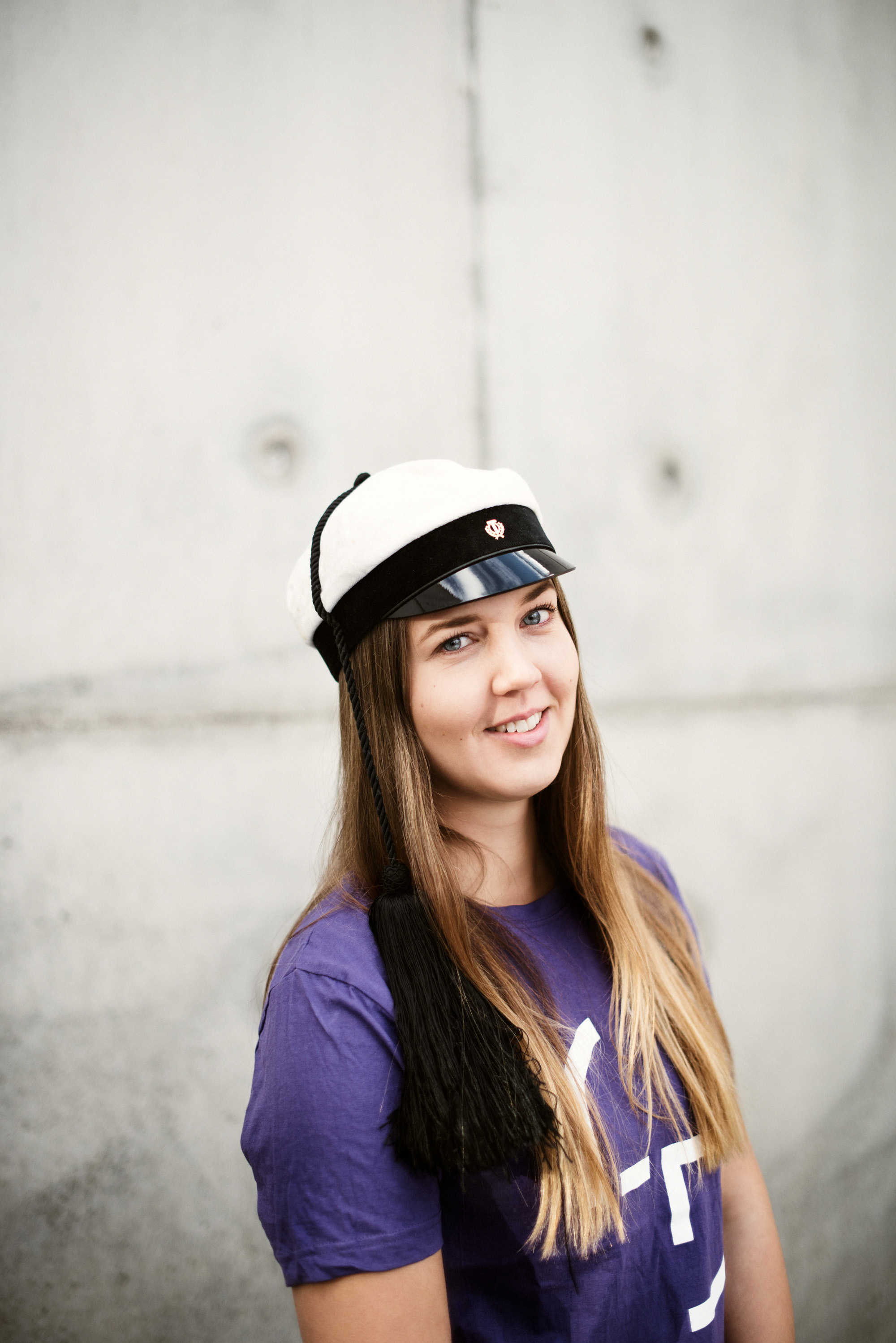Anni, konetekniikan opiskelija, teekkari